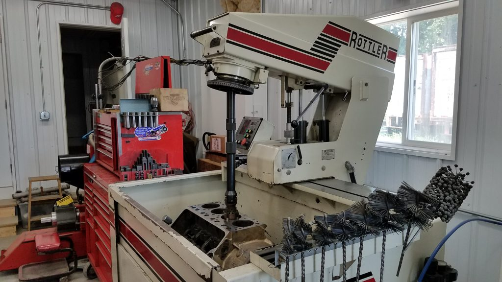 Machine shop car repair shop nd